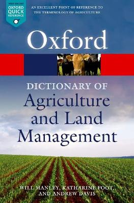 A Dictionary of Agriculture and Land Management - Will Manley