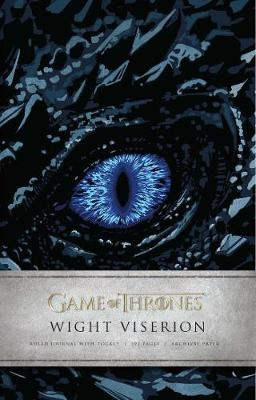 Game of Thrones: Wight Viserion Hardcover Ruled Journal - Insight Editions