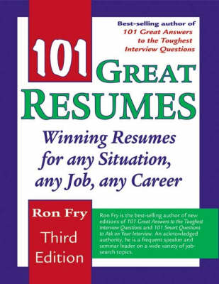 101 Great Resumes - Ron Fry