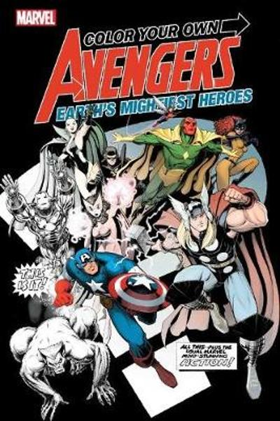 Color Your Own Avengers 2 - Marvel Comics