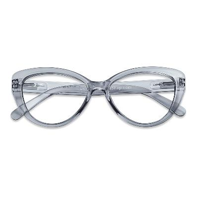 Lesebrille Cat Eye smoke +2 - Have A Look