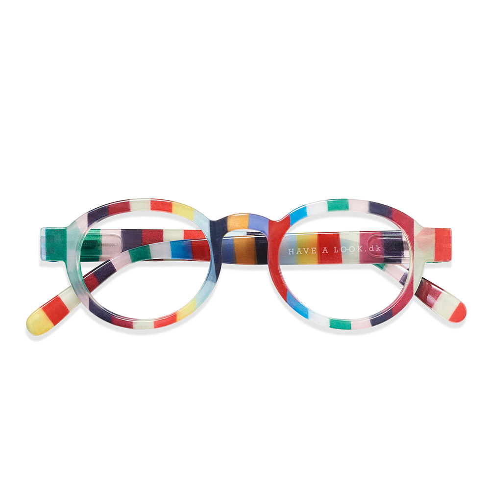 Lesebrille Circle Twist candy +2 - 