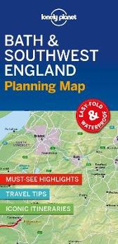 Lonely Planet Bath & Southwest England Planning Map - Lonely Planet Lonely Planet
