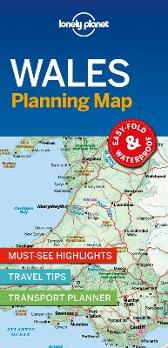 Lonely Planet Wales Planning Map - Lonely Planet Lonely Planet