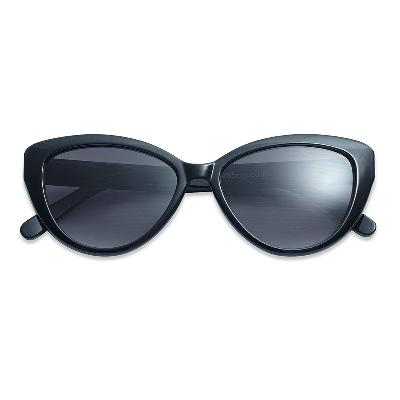 Solbrille Cat Eye black +2,5 - Have A Look