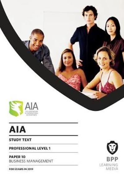 AIA 10 Business Management - BPP Learning Media