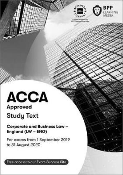 ACCA Corporate and Business Law (English) - BPP Learning Media