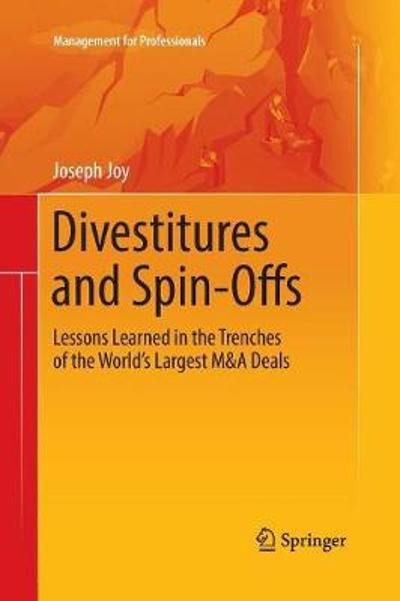 Divestitures and Spin-Offs - Joseph Joy