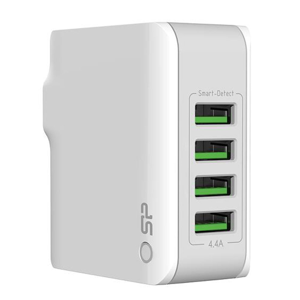 4 port reise lader - Silicon Power