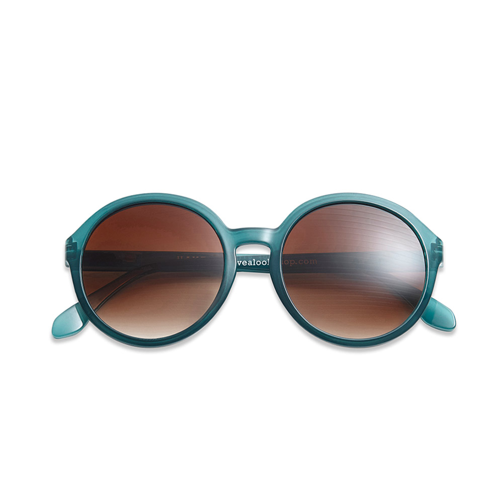 Solbrille Diva petrol +1,5 - 