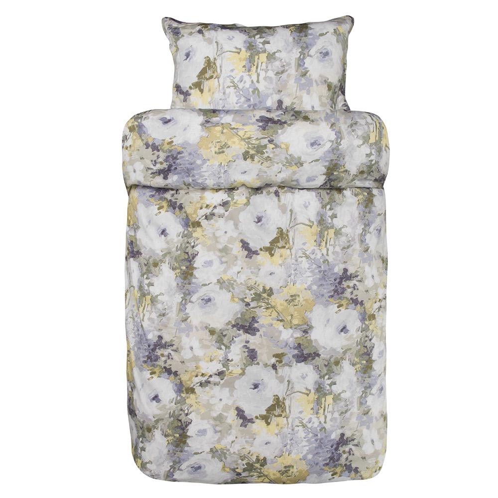 Alvorlig Filippa sengesett 200x220/2x50x70 cm lavendel - Høie » Bokklubben HT-37