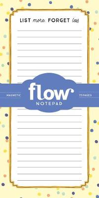 List More, Forget Less Magnetic Notepad - Irene Smit