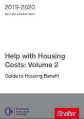 Help With Housing Costs: Volume 2 - Martin Ward Sam Lister