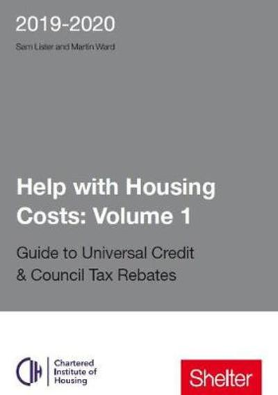 Help With Housing Costs: Volume 1 - Martin Ward