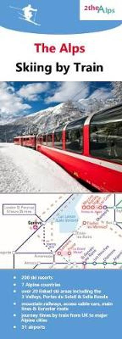 The Alps - Skiing by Train -