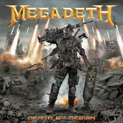 Megadeth Death by Design Hardcover - Various