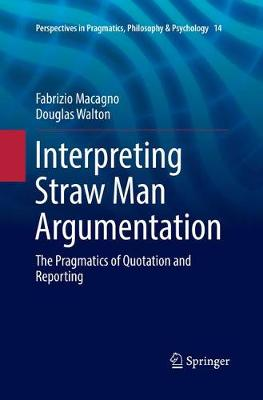 Interpreting Straw Man Argumentation - Fabrizio Macagno