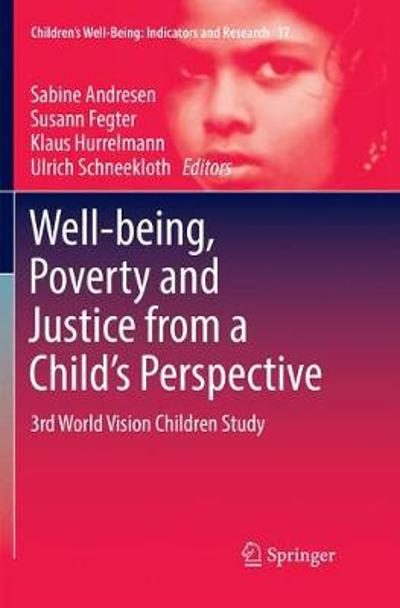 Well-being, Poverty and Justice from a Child's Perspective - Sabine Andresen