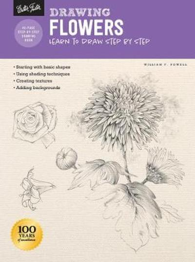 Drawing: Flowers with William F. Powell - William F. Powell
