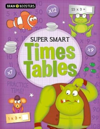 Brain Boosters: Super-Smart Times Tables - Penny Worms