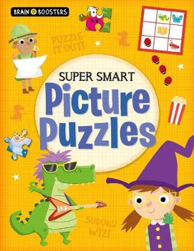Brain Boosters: Super-Smart Picture Puzzles - Kate Overy