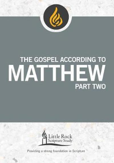 The Gospel According to Matthew, Part Two - Barbara E. Reid