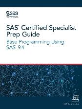 SAS Certified Specialist Prep Guide - Sas Institute