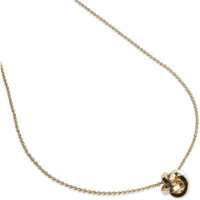PEARLS FOR GIRLS Knot Necklace Gold - PFG Stockholm