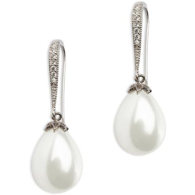 PEARLS FOR GIRLS Queeny Earring White - PFG Stockholm