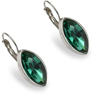 PEARLS FOR GIRLS Mary Earring Green - PFG Stockholm
