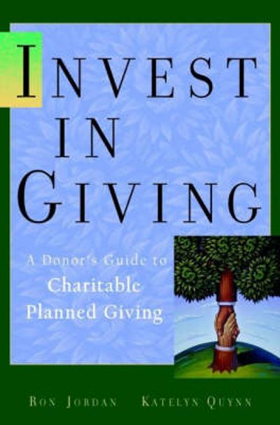 Invest in Charity - Ron Jordan