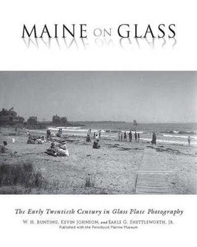 Maine On Glass - W H. Bunting
