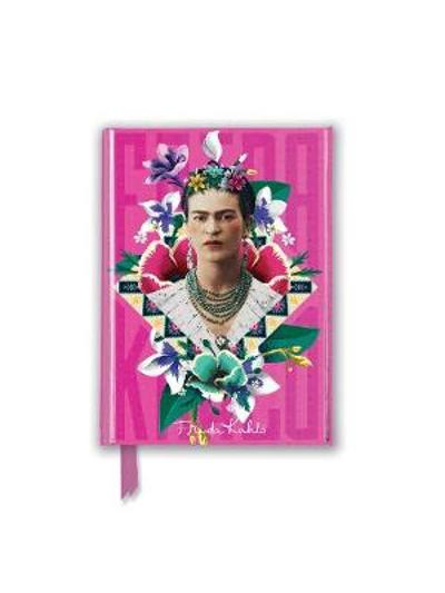 Frida Kahlo Pink (Foiled Pocket Journal) - Flame Tree Studio