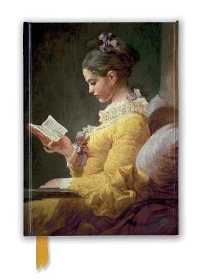 Jean-Honore Fragonard: Young Girl Reading (Foiled Journal) - Flame Tree Studio