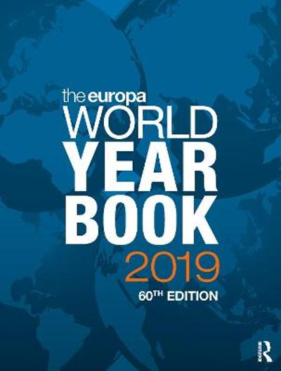 The Europa World Year Book 2019 - Europa Publications