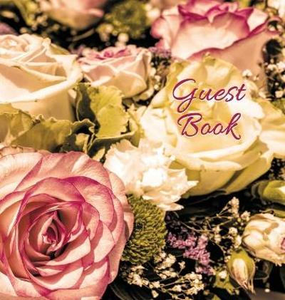 Wedding Guest Book (HARDCOVER) for Wedding Ceremonies, Anniversaries, Special Events & Functions, Commemorations, Parties. - Angelis Publications