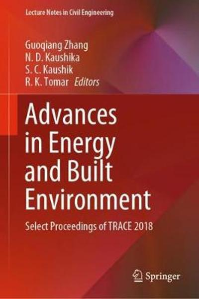 Advances in Energy and Built Environment - Guoqiang Zhang
