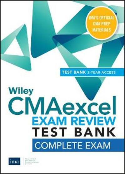 Wiley CMAexcel Learning System Exam Review 2020 Test Bank - IMA