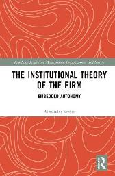The Institutional Theory of the Firm - Alexander Styhre