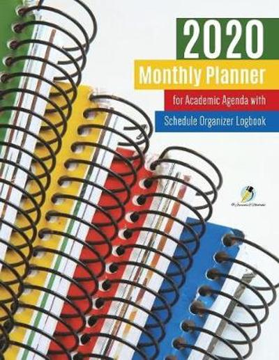 2020 Monthly Planner for Academic Agenda with Schedule Organizer Logbook - Journals and Notebooks