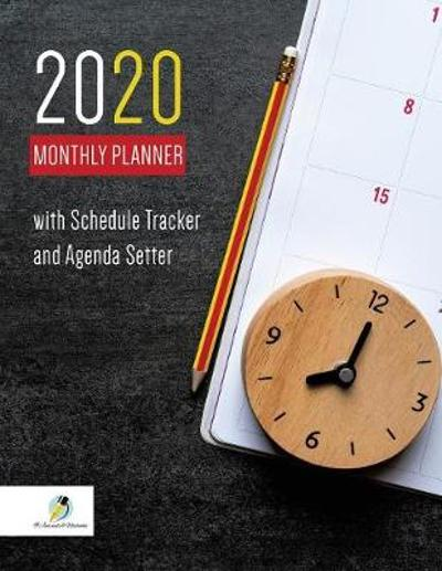 2020 Monthly Planner with Schedule Tracker and Agenda Setter - Journals and Notebooks