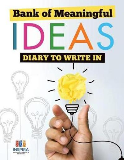 Bank of Meaningful Ideas Diary to Write In - Planners & Notebooks Inspira Journals