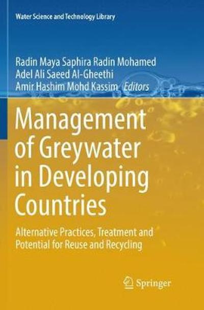 Management of Greywater in Developing Countries - Radin Maya Saphira Radin Mohamed