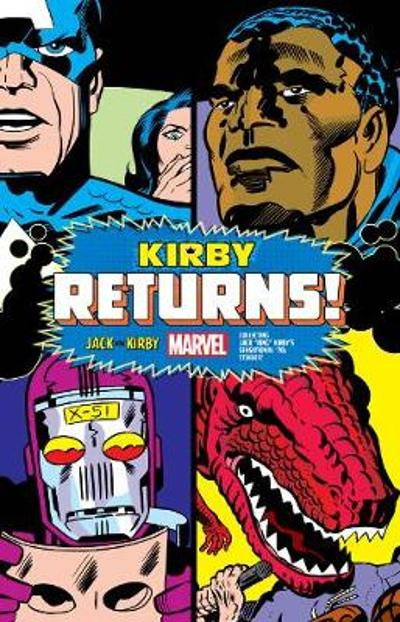 Kirby Returns King-size Hardcover - Jack Kirby
