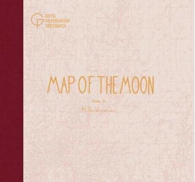 Map of the Moon - Hugh Percy Wilkins