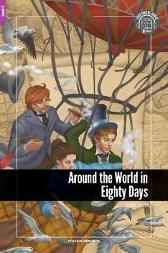 Around the World in Eighty Days - Foxton Reader Level-2 (600 Headwords A2/B1) with free online AUDIO - Jules Verne