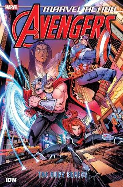 Marvel Action Avengers The Ruby Egress (Book Two) - Matthew K. Manning