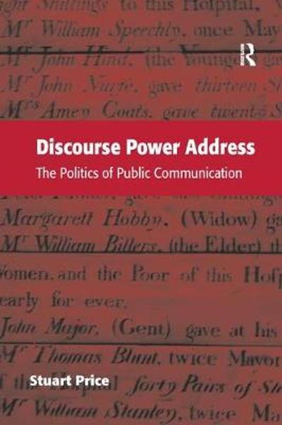Discourse Power Address - Stuart Price