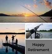 Fishing Retirement Guest Book (Hardcover) - Lulu and Bell