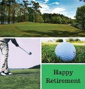 Golf Retirement Guest Book (Hardcover) - Lulu and Bell